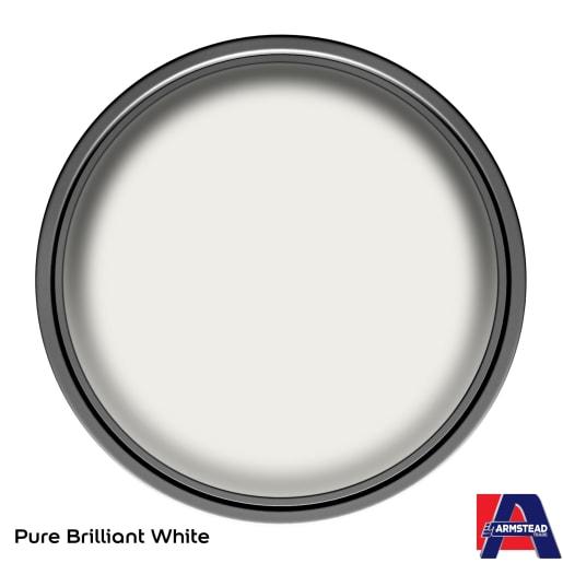 Armstead Trade Satin Paint 2.5L Brilliant White