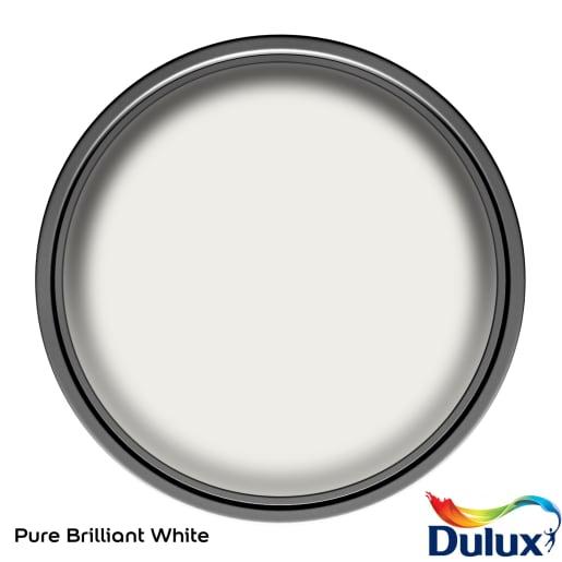 Dulux Trade Satinwood Paint 1L Pure Brilliant White