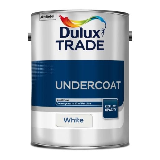 Dulux Trade Undercoat Paint 5L White