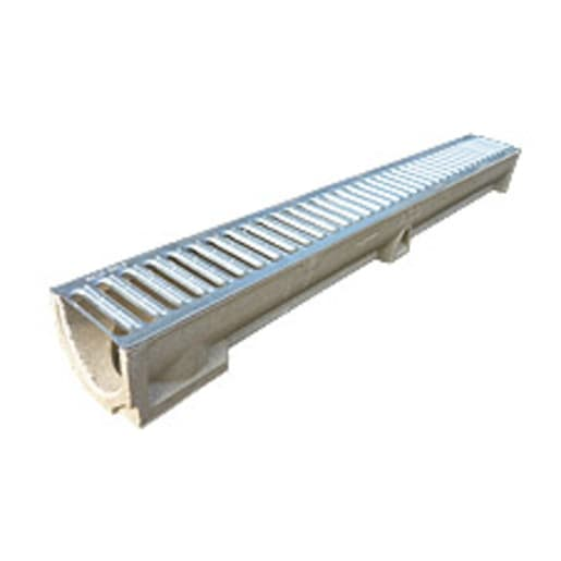 EJ Liberty Flow Polymer Concrete Channel 1m x 120mm Galvanised