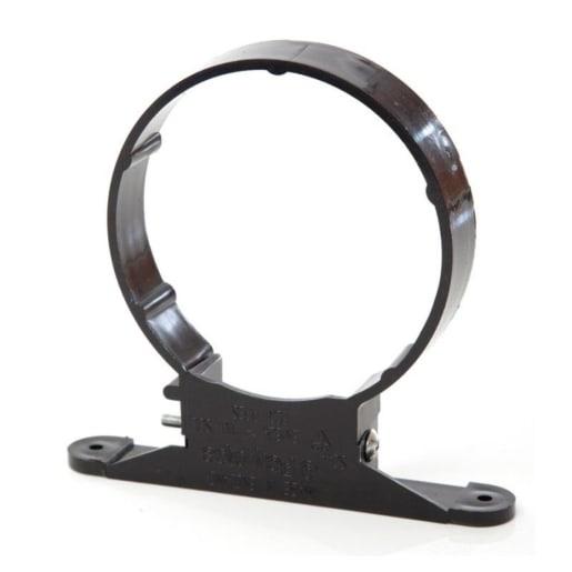Polypipe PolySoil Pipe Saddle Clip 110mm Black