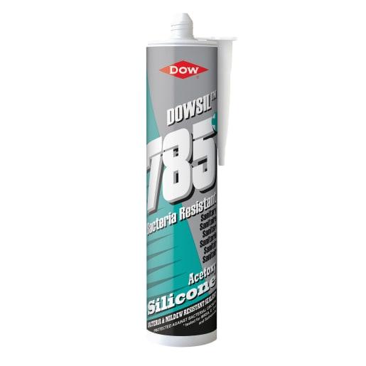 Dow Dowsil 785 Sanitary Silicone Sealant 310ml White