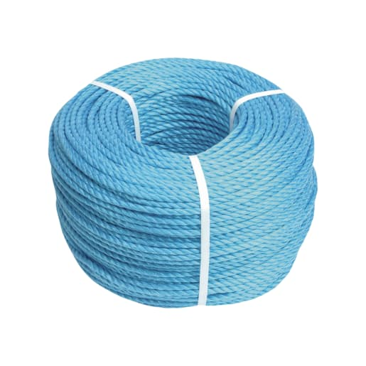 Faithfull Poly Rope 220m x 6mm Blue