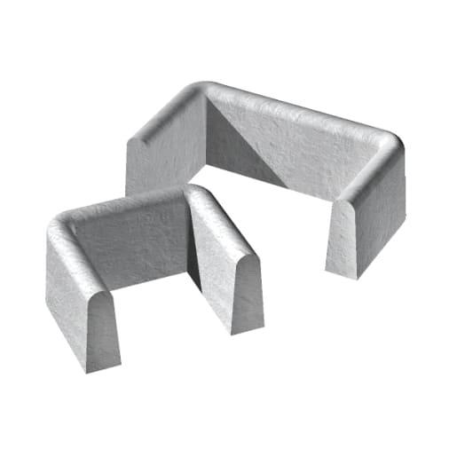 Supreme Concrete Gully Surround 230 x 230 x 150mm Grey