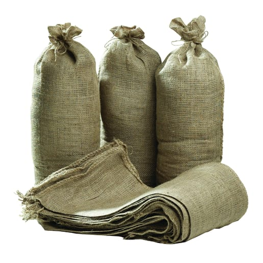 Hessian Tie String Sand Bags 325 x 750mm Natural
